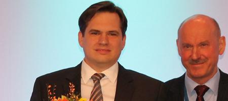 Felix-Jerusalem-Preis für Jun.-Prof. Dr. Rudolf A. Kley