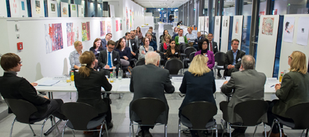 Zweites Zwischentreffen der Global Young Faculty III in Dortmund