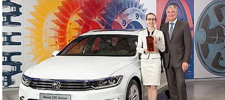 Woman DrivING Award 2014 für Dr. Ekaterina Nannen