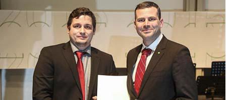 Christoph Brandenbusch erhält den Lehrpreis der TU Dortmund