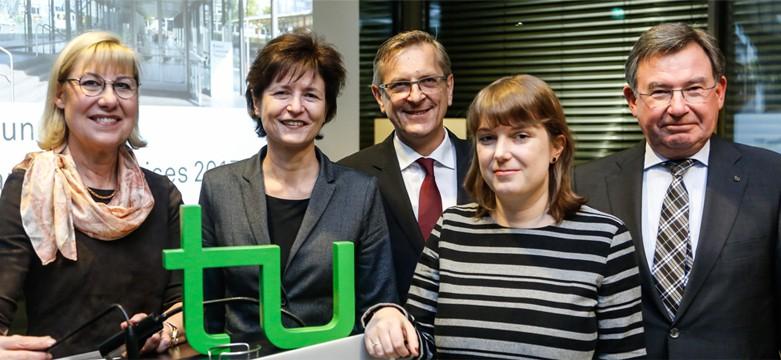 Dr. Stefanie Reichert aus der GYF V wird mit Rudolf Chaudoire-Preis geehrt