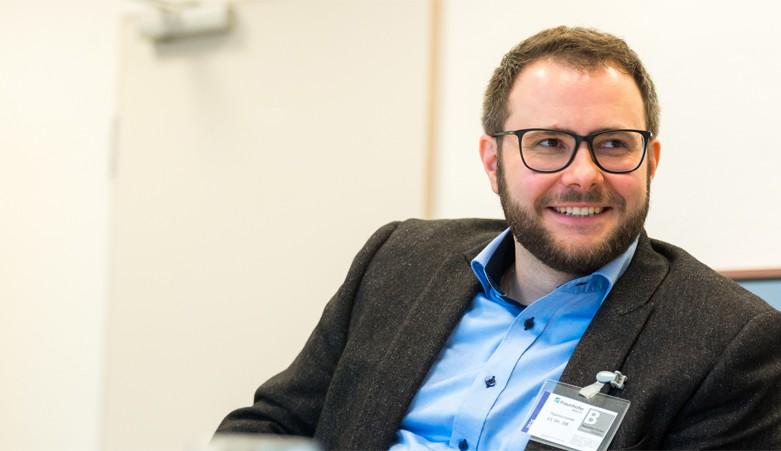 GYF IV-Mitglied Markus Richter in das Junge Kolleg aufgenommen