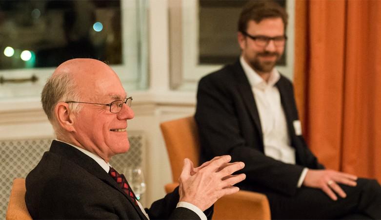 Kamingespräch mit Norbert Lammert