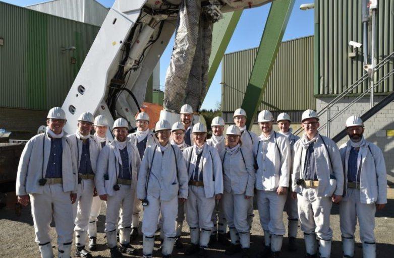 Die Global Young Faculty zum zweiten Kamingespräch zu Gast im Bergwerk Prosper-Haniel