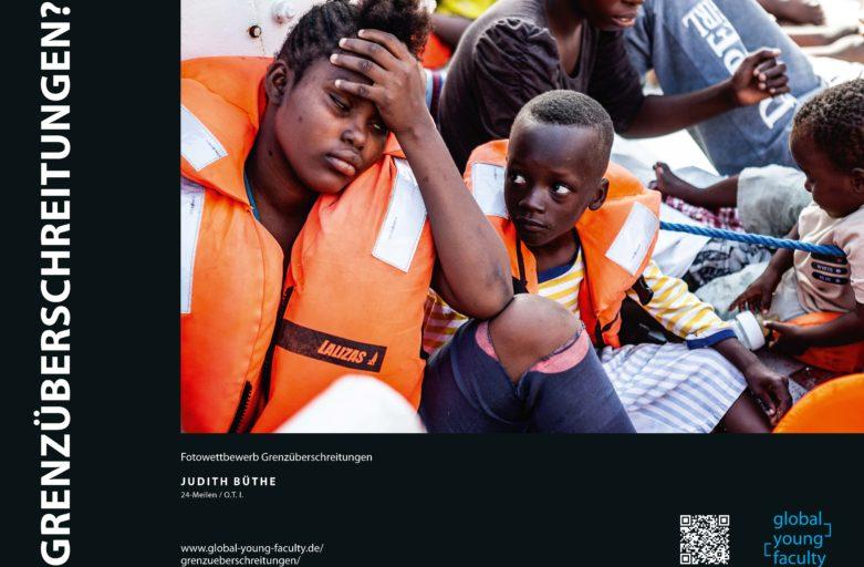 GYF-Fotowettbewerb 'Grenzüberschreitungen': WAZ berichtet über die Bochumer Gewinnerin Judith Büthe